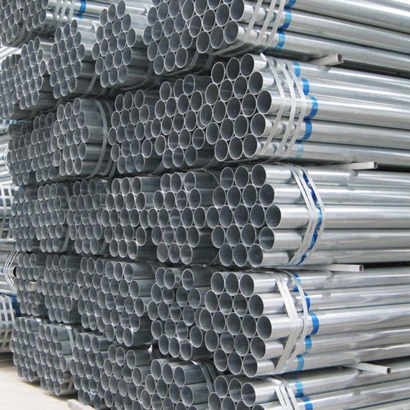 Steel Pre Galvanized Round Pipe