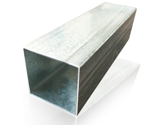 GALVANIZED SQUARE AND RECTANGULAR STEEL TUBE