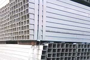 Hot dipped rectangular and square steel pipe price