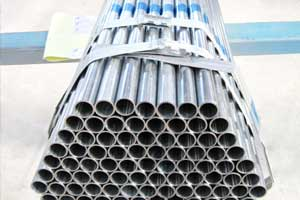 Pre galvanized round steel pipe price