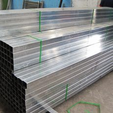 Pre galvanized steel rectangular and square tube