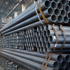 China Mild steel pipe factory