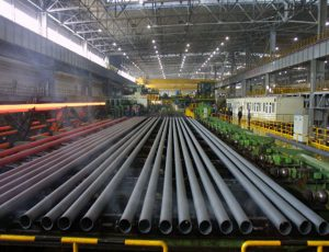 steel pipe manufacturing