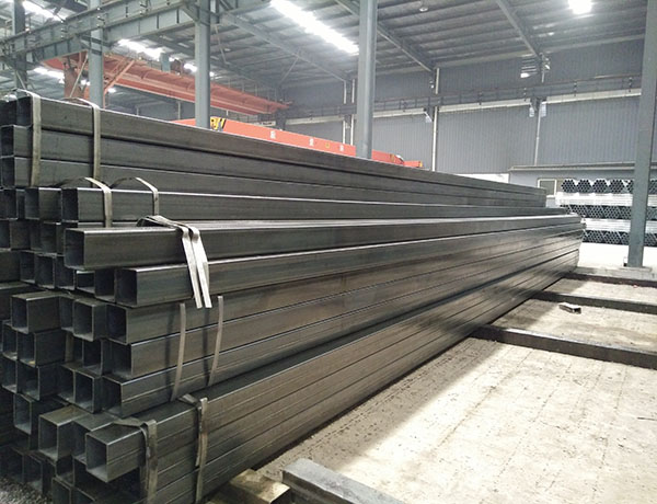 steel pipe plant