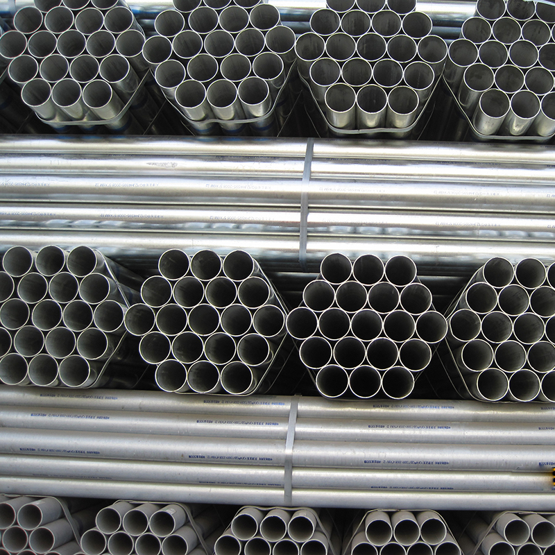 How to look at zinc steel pipe market in 2018