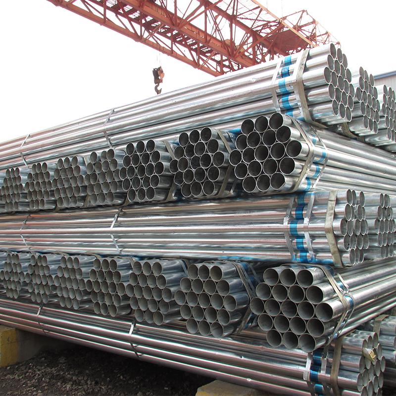 zinc coated steel pipe used in scaffolding pipe dongpengboda steel