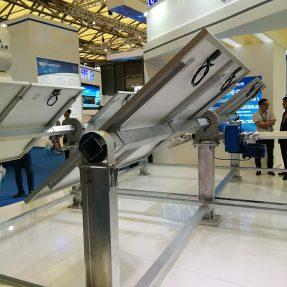Q345B G90 65um 80um galvanized square tube for solar tracking system