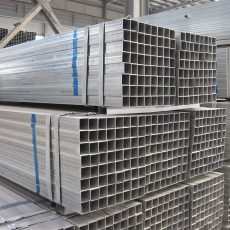 Tianjin square steel pipes are widely used for building frames today