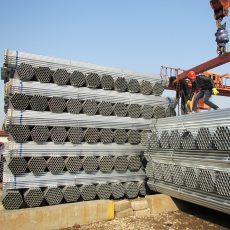 Tianjin hollow section tubes are widely used in plastic greenhouse projects today