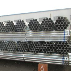 Galvanised Tube zinc round 1/2-4