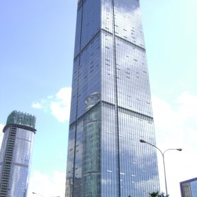 Glass Curtain Wall with Aluminum Profile with Competitive Prices