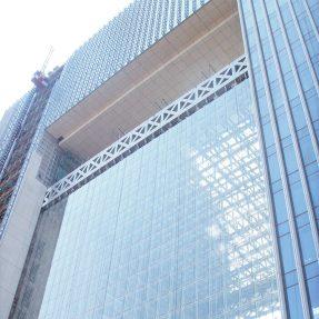 Exterior building aluminium profile window glass curtain wall price