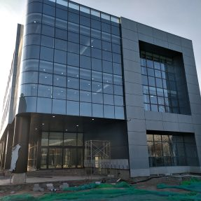 Why does curtain wall construction become so popular today?
