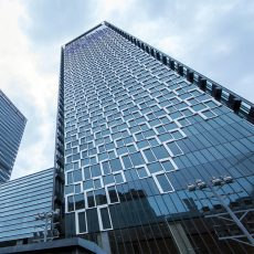 How to look at hidden frame used in the glass curtain wall project